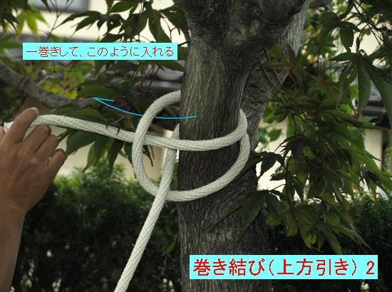 巻き結び(上方引き) 2jpg