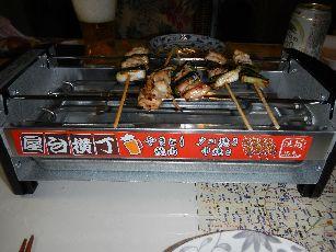 家で焼き鳥その1 (2)