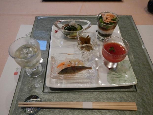 花の風@夕食 (1)