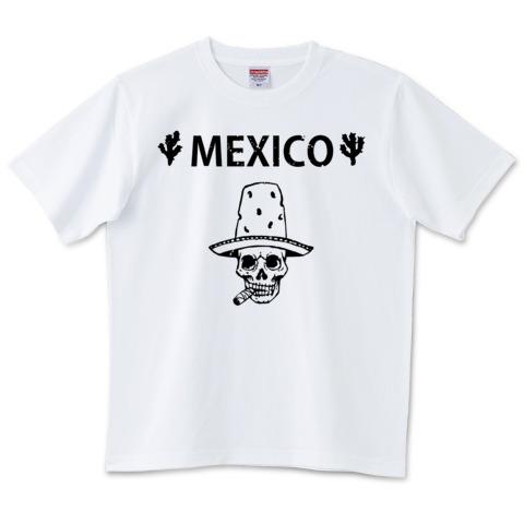 Mexico Skull_white_t