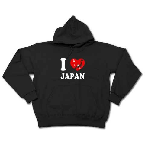 I Love Japan_スウェットパーカー