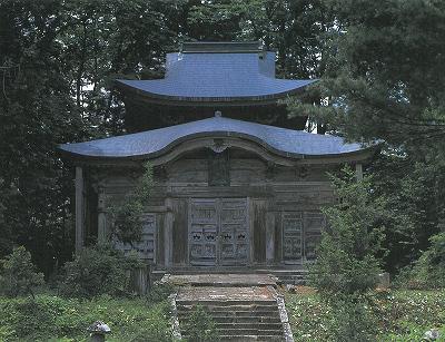 a8山形金峯神社本殿