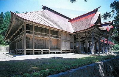 a8山形旧日月寺本堂