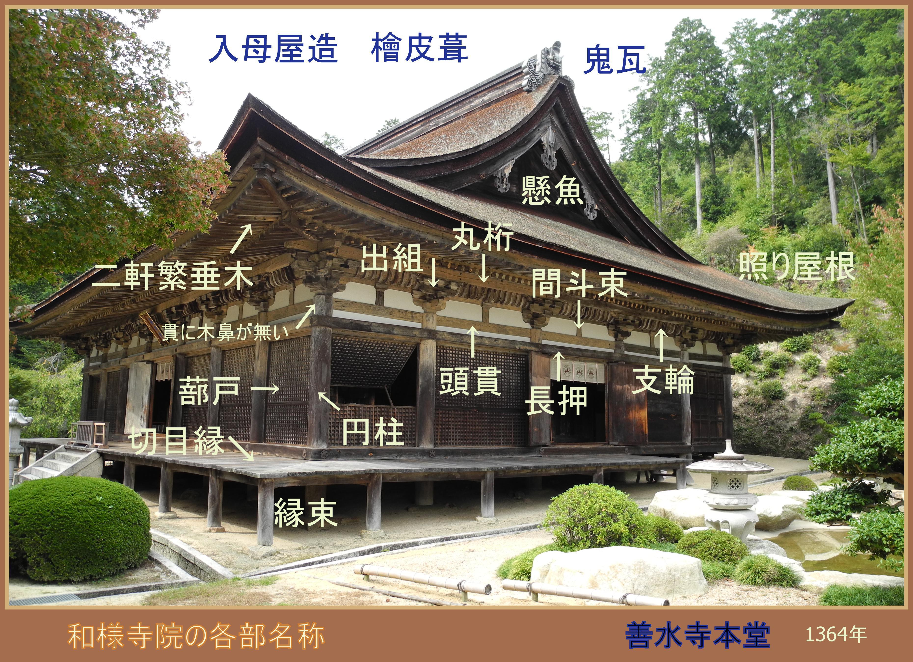 a11和様組物ー善水寺