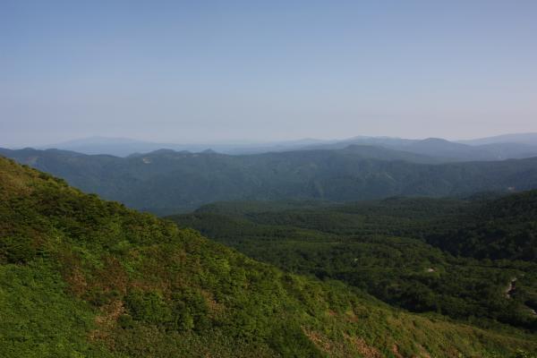 森吉山遠望