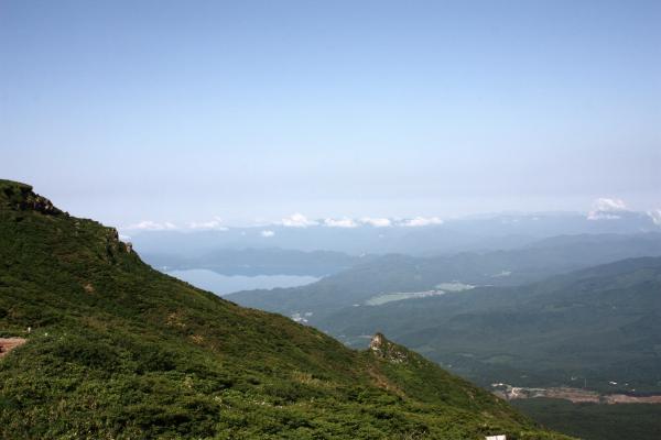 田沢湖遠望