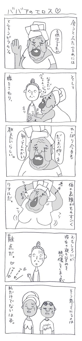 ババアのエロス