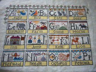 Alphabet Blocks 16個