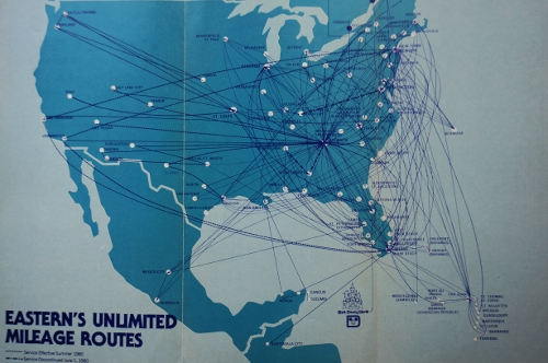 eastern route map 80s
