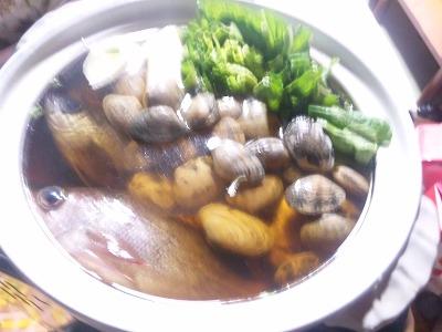 本日の釣り料理
