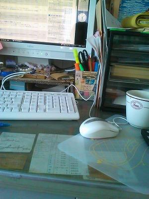 around a desk