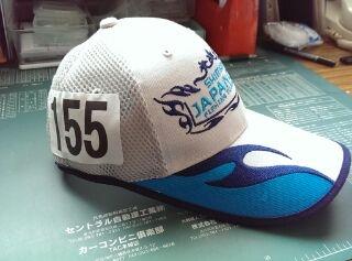5月10日ジャパンカップ帽子。