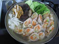 肉巻き鍋8