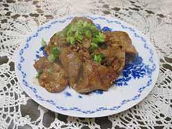 豚肉の生姜焼3
