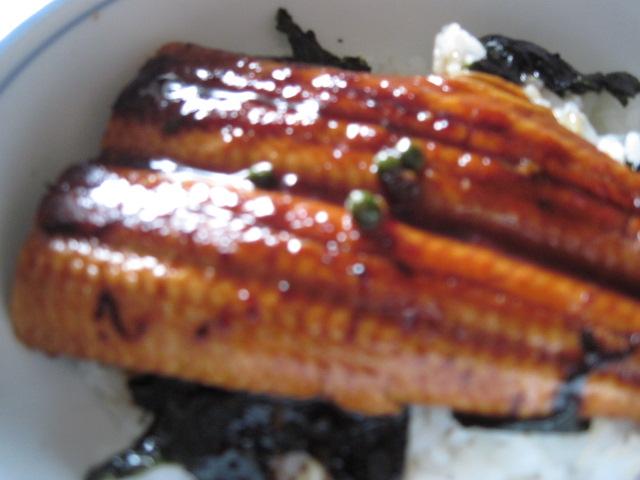 鰻のかば焼き2