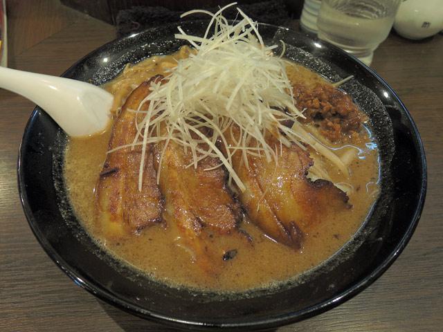 焼豚味噌ラーメン