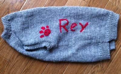 Reyたんのセーター