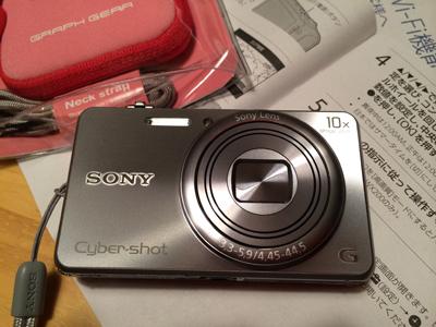 カメラのプレゼント