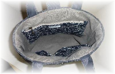 裂き織りトート8-2