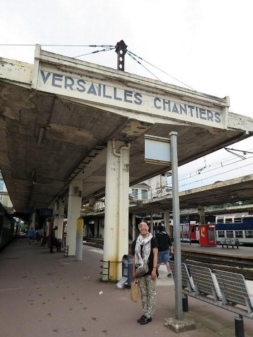 ベルサイユの駅、あきこちゃん