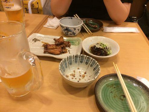 名古屋の夕方