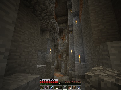 洞窟②-裂け目5