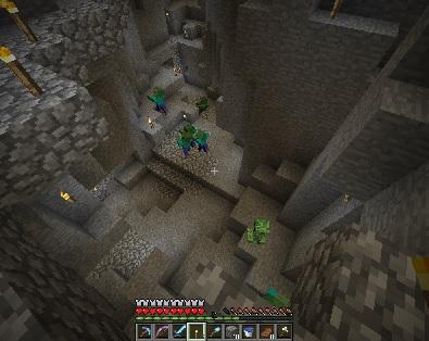 洞窟⑬-峡谷2