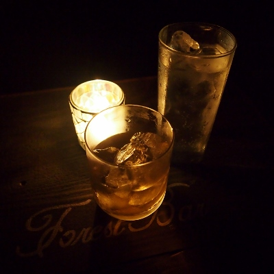 梅酒ロックとモヒート
