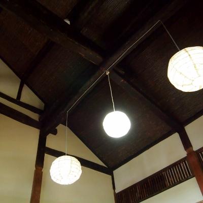 天井が高い・・・