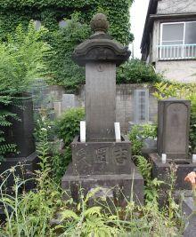 月岡芳年の墓