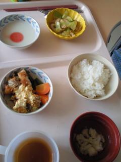 父のお昼ご飯