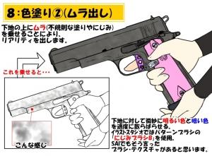 銃描き方講座8