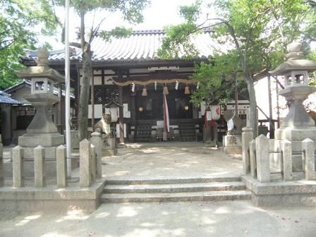 1 椋橋(くらはし)総社の本殿および拝殿