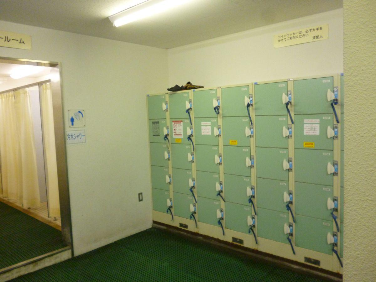 2014年8月31日サントピア岡山総社プールロッカー&シャワー室