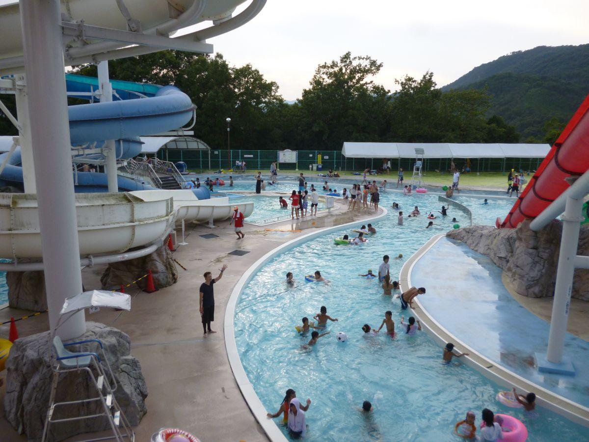 2014年8月31日サントピア岡山総社プール流れるプール