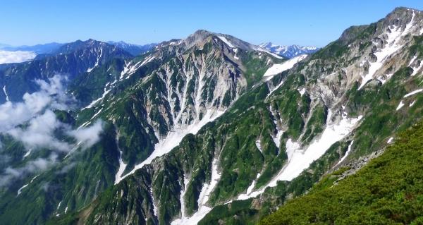 小蓮華から大雪渓863