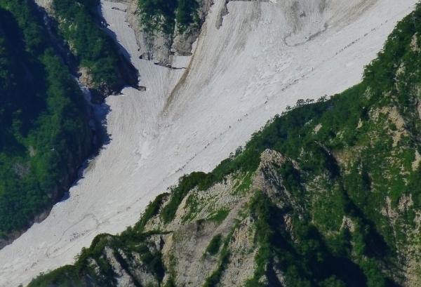 大雪渓遠景867