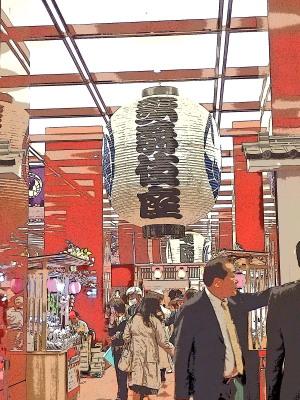 地下鉄東銀座駅と直結しています。