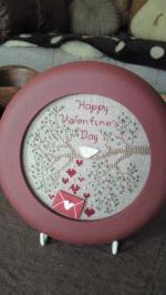 2014Feb バレンタイン ステッチ
