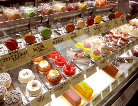 【ケーキ】ラ・グリシーヌ_ショーケース