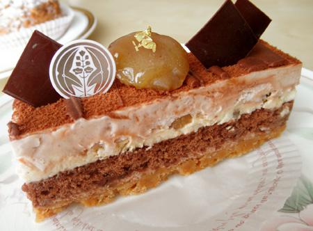 【ケーキ】ラ・グリシーヌ「イクスマロン」