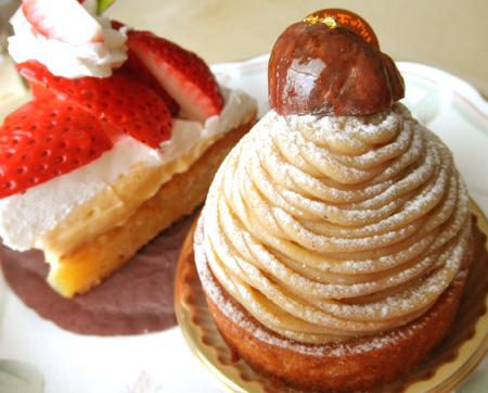 【ケーキ】ヨロイヅカファーム「筑波山」