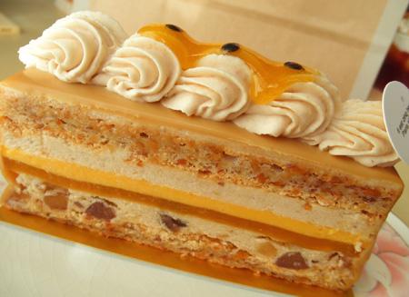 【ケーキ】パリセヴェイユ「マロンパッション」 (2)