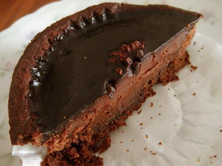 【ケーキ】シュシュクル「タルト・ショコラ」02