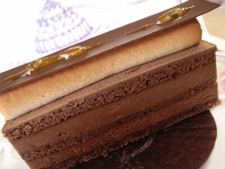 【ケーキ】エーグルドゥース「フレッシュールショコラ」 (3)