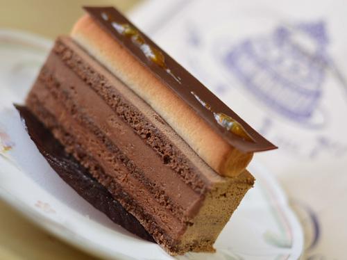 【ケーキ】エーグルドゥース「フレッシュールショコラ」 (1)