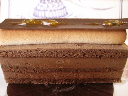 【ケーキ】エーグルドゥース「フレッシュールショコラ」 (2)