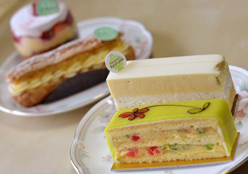 【ケーキ】パクタージュ&ユウササゲ