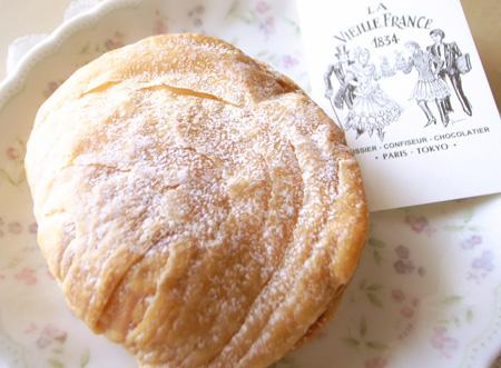 【ケーキ】ラ・ヴィエイユ・フランス「ショーソンナポリタン」 (4)