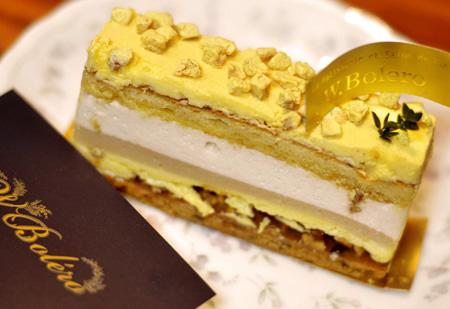 【ケーキ】Wボレロ「ムースリーヌパバナ」